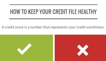 Credit-file-clean