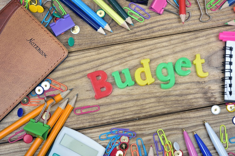 five elements of a good household budget planner