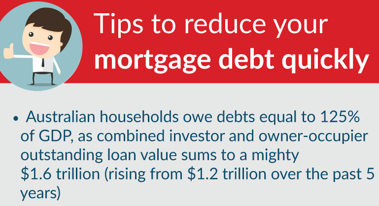 Tips on reducing your mortgage debt